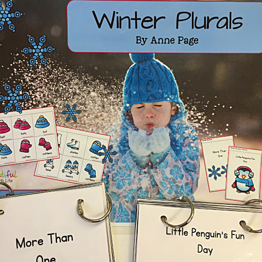 December Language Therapy ideas and a FREEBIE for you