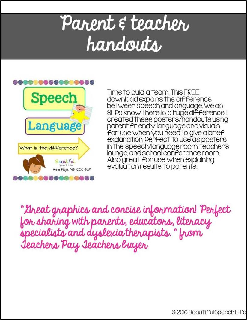 Speech Language Difference