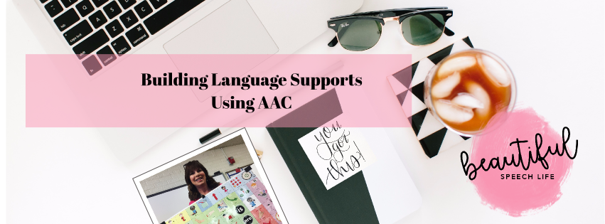 Building Language Supports Using Low-Tech AAC