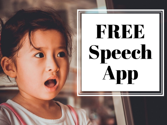 FREE Speech App for Speech Language Pathologists
