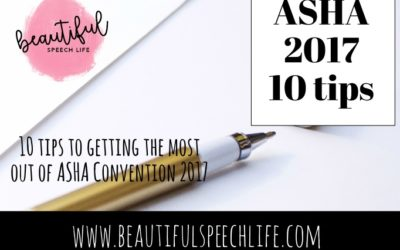 10 Tips to getting the most out of ASHA Convention 2017
