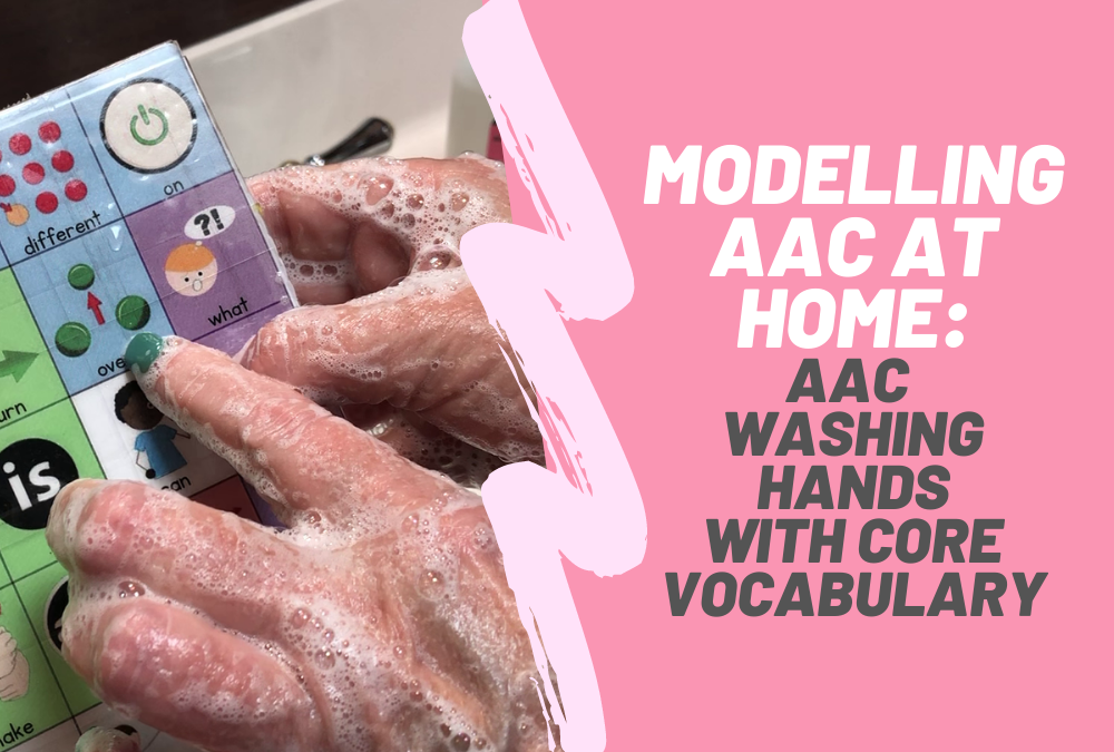 Washing Hands | AAC with Core Vocabulary Board