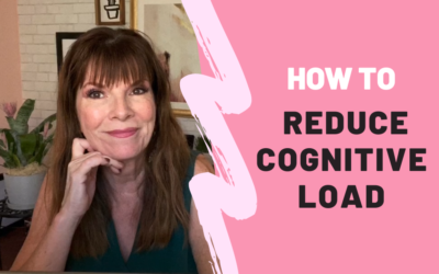 How to Reduce Cognitive Load