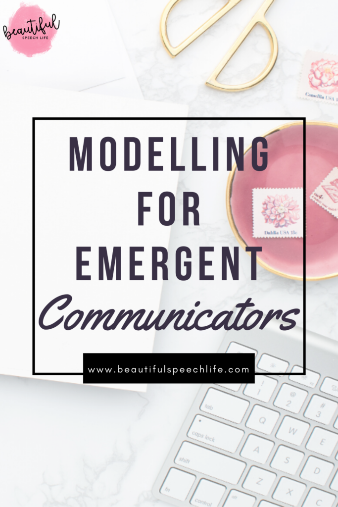 Modelling for emergent communicators